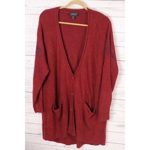 Lane Bryant 26/28 Long Soft Cardigan Sweater